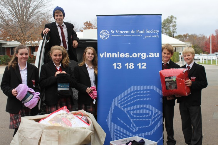 Community Service Hero Image - Vinnies Blanket Appeal