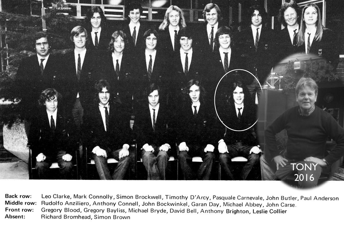Tony Brighton 1974