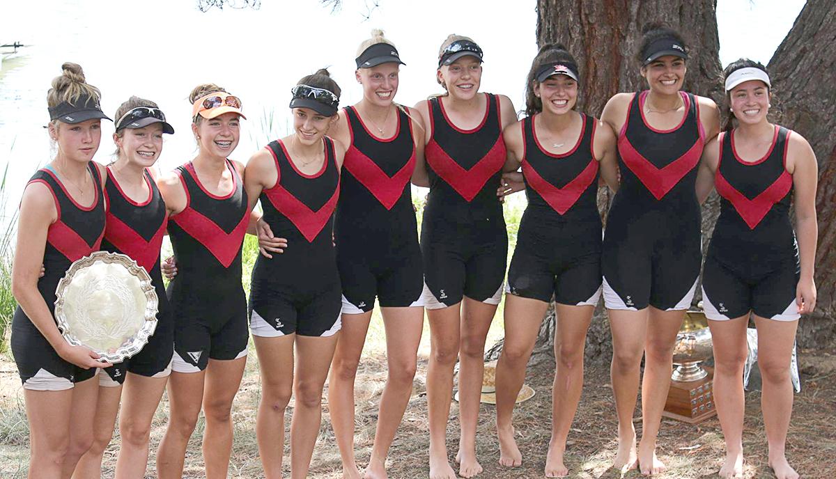2016 ACT Champion Schoolgirls Eight