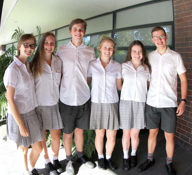 Years 11 and 12 summer uniform