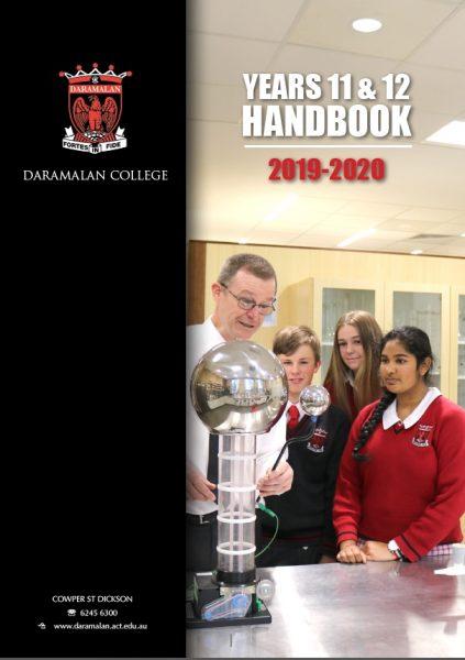 Years 11-12 Handbook 2019-2020
