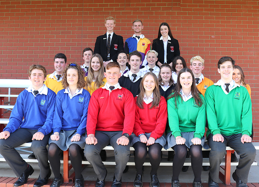 The 2019 Captains and House Captains